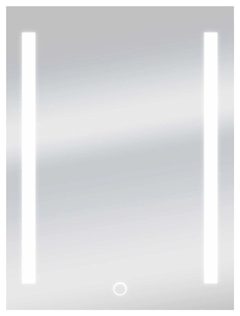 """Dyconn Catella Vanity Bathroom Led Mirror With Touch On/off Dimmer/anti-Fog, 24""""."""