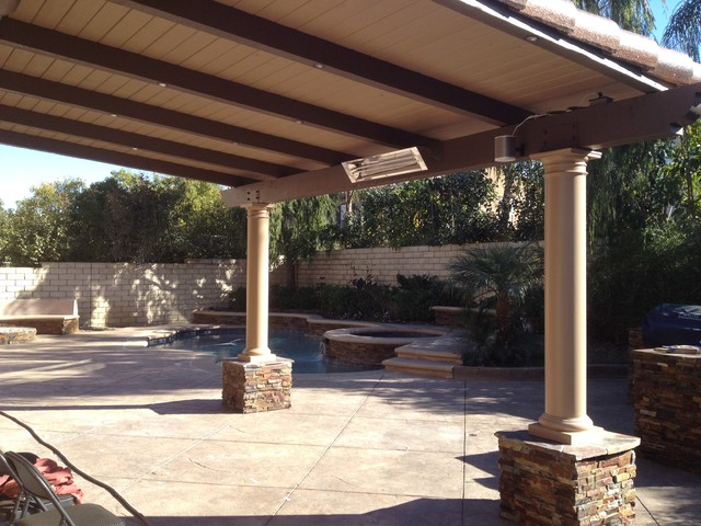 Exceptional Attached Solid Roof Patio Covers Patio