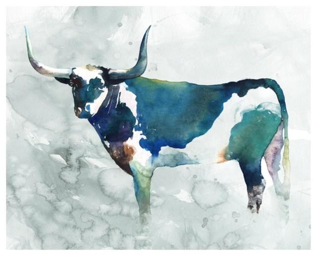 """""""bovine Stance I"""" Fine Art Piece."""