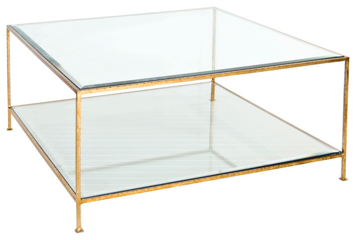 Worlds Away Quadro Coffee Table Contemporary Coffee Tables By Matthew Izzo