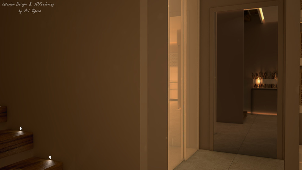 Detached house interior project
