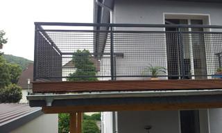 balkongel nder gitterrost feuerverzinkt und. Black Bedroom Furniture Sets. Home Design Ideas