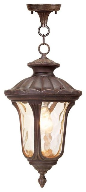 Livex Lighting 1-Light Imperial Bronze Chain Lantern.