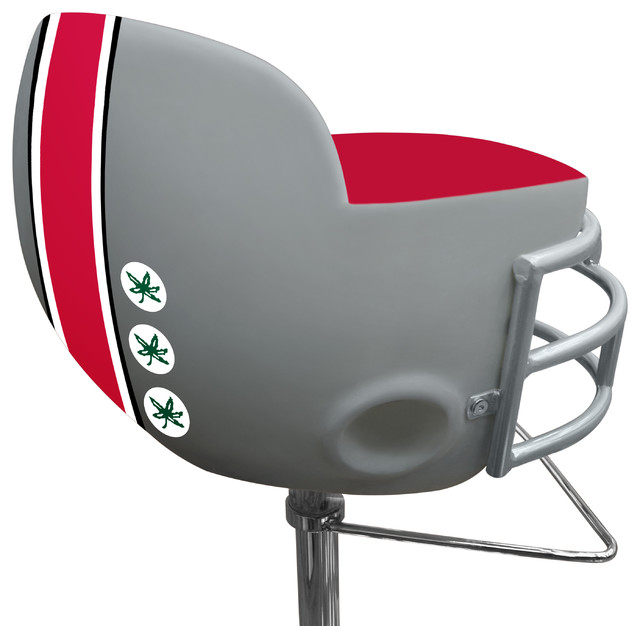 NCAA Ohio State University Football Helmet Barstool Contemporary