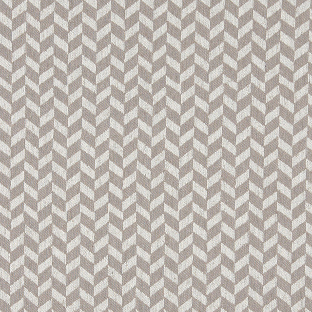 Grey And Off White Herringbone Check Upholstery Fabric By The Yard