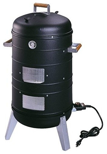Smokers 2 In 1 Electric Water Smoker That Converts Into A Lock &x27;n Go Grill.