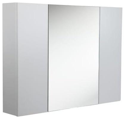 """Fresca Modello 32"""" White Medicine Cabinet."""