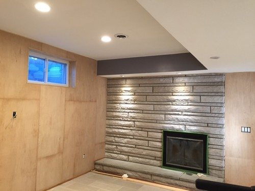 cabinet grade maple plywood walls - stain?