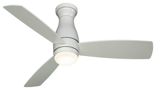 "Fanimation Fps8355-220 Hugh 52"" 3 Blade Led Outdoor Ceiling Fan."