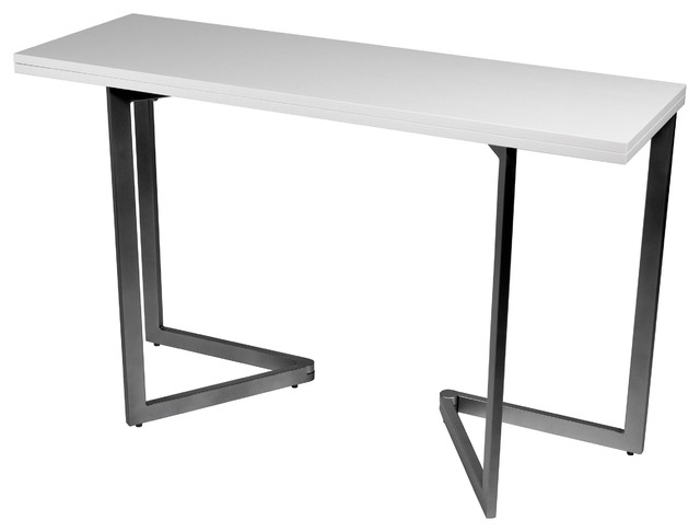 Expanding Console Table Modern Folding Tables By