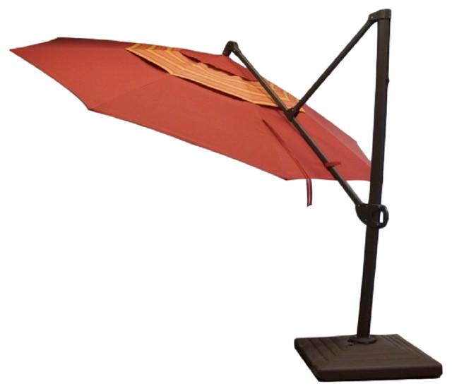 11 trigger lift cantilever umbrella modern outdoor