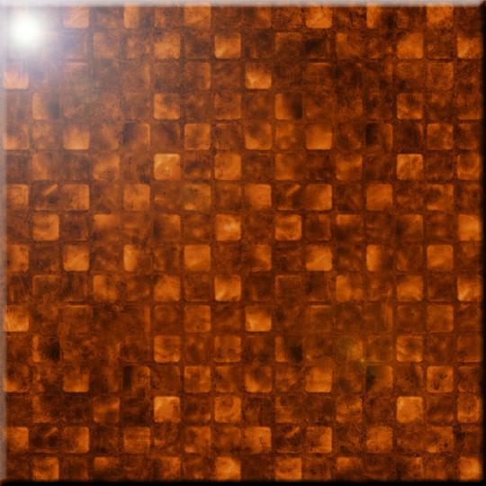 8 x 8 Rikki Knight Grunge Golden Stars Design Ceramic Art Tile