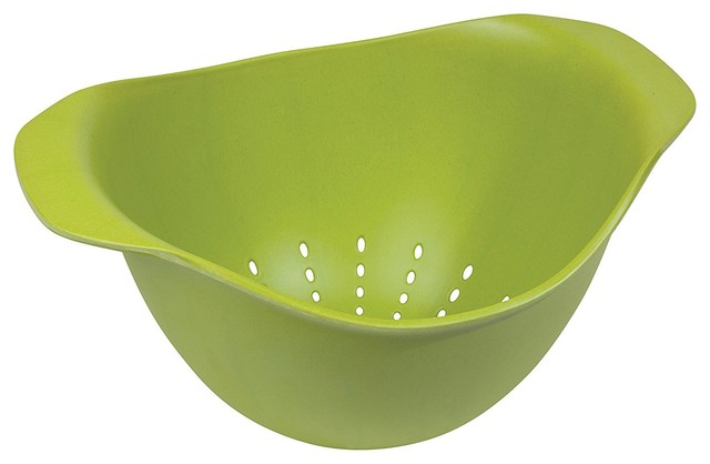 Now Designs Ecologie Colander, Cactus Green