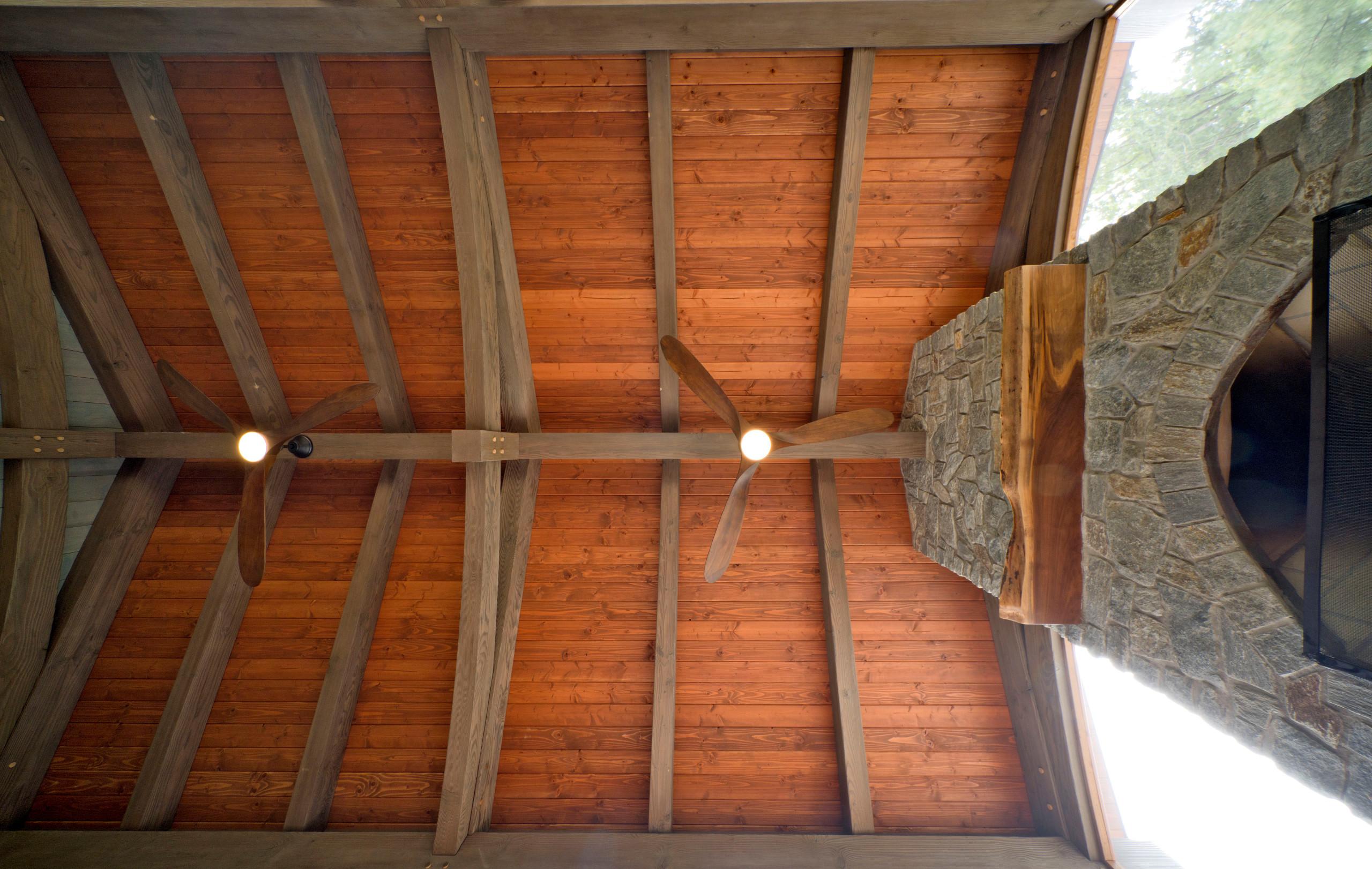Timber Frame Potomac Screen Porch