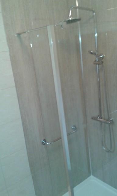 Shower room newport contemporary bathroom other for Gwent garden designs ltd