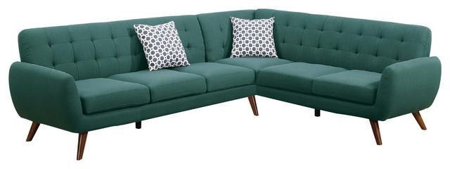 Modern Retro Sectional Sofa Scandinavian Sectional