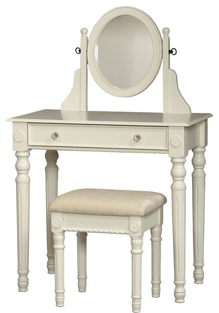 linon home decor lorraine vanity set lorraine vanity set white traditional bedroom 13515