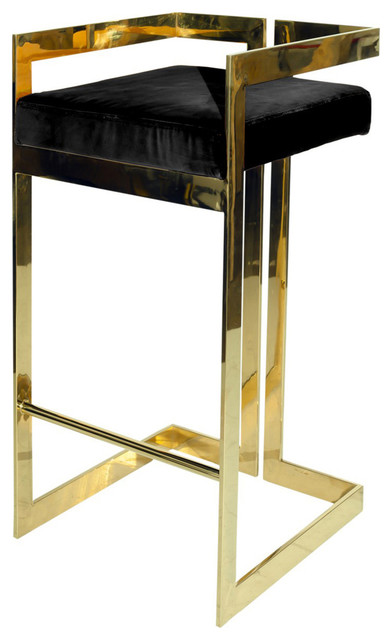 Incredible Worlds Away Linear Bar Stool With Base And Cushion Gmtry Best Dining Table And Chair Ideas Images Gmtryco