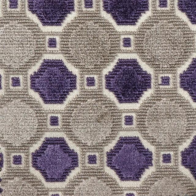 Palazzo - Aubergine Upholstery Fabric