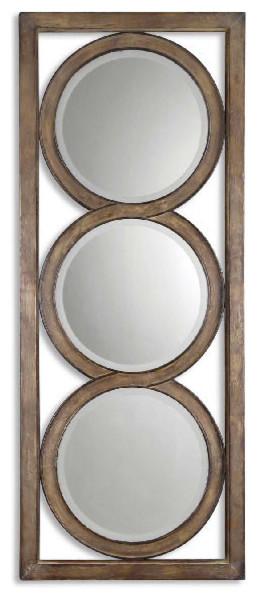 Uttermost Isandro Metal Silver Mirror.