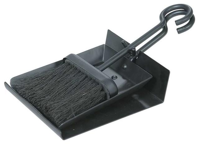 Uniflame Black Shovel And Brush Set With Pan.