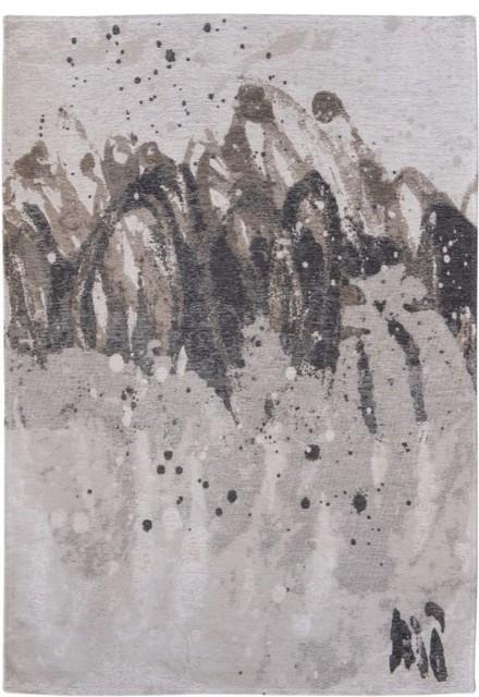 Fading World Agra Rectangular Rug, Shades of Grey, 140x200 cm