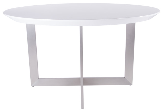 Tosca 54 Round Dining Table Contemporary Dining Tables By Euro Style