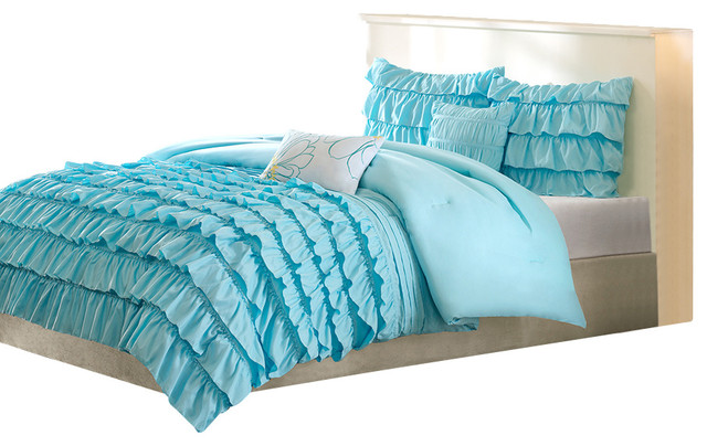 Peach Skin Solid Comforter Set Traditional Comforters And
