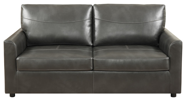 Humboldt Sleeper Sofa, Charcoal, Queen.