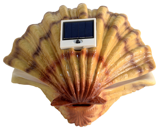 Homebrite Solar Powered Pearl Mood Light In Clam Shell 11