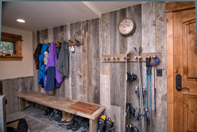 walls kits wood floor interior and concrete barns pole pin barn stained