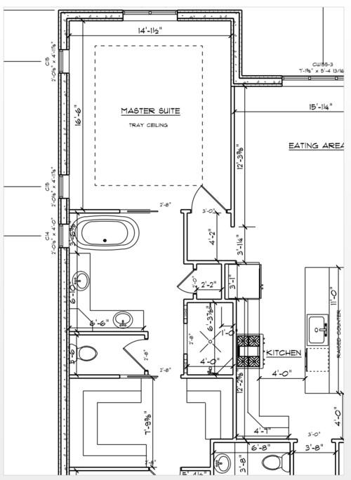sc 1 st  Houzz & Pocket Door vs Standard Door for Master Bath Entry