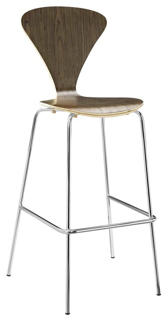 Admirable Modern Bar And Dining Bar Stool Wood Metal Steel Brown Beatyapartments Chair Design Images Beatyapartmentscom