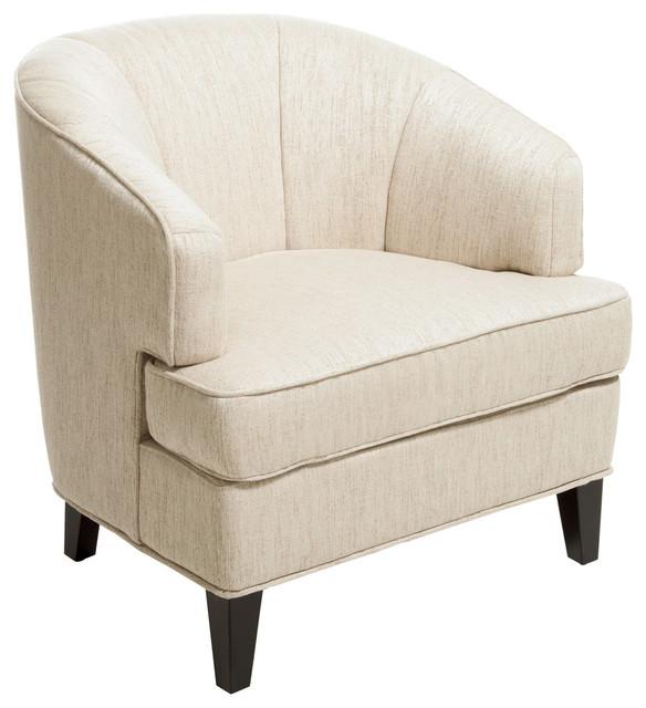 Camden Fabric Club Chair, Beige.