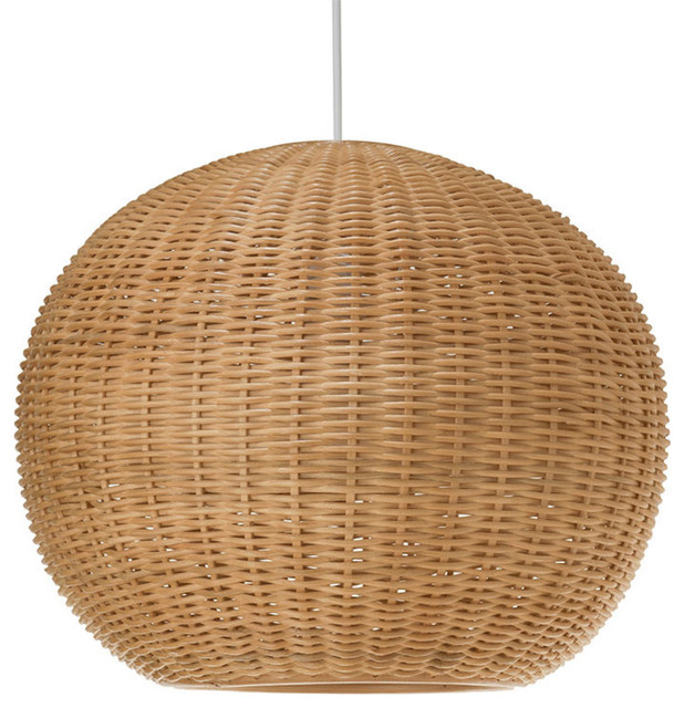 Wicker ball pendant light natural tropical pendant lighting wicker ball pendant light natural aloadofball Gallery