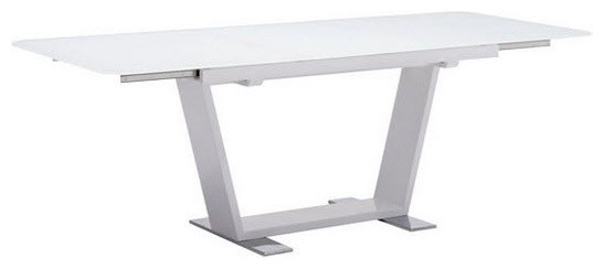 Zuo Modern White St Charles Extension 102130 Dining Table