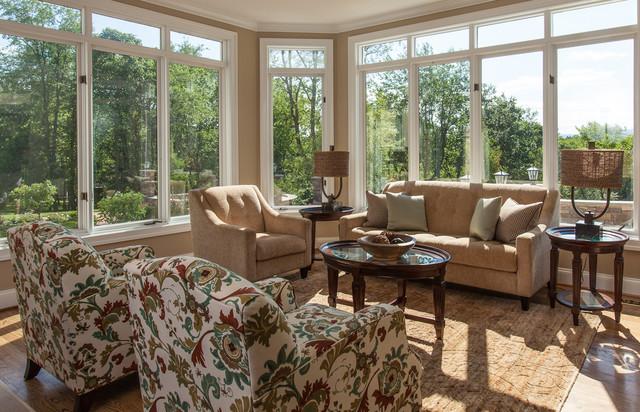 Contemporary Sunroom Interior Design contemporary-sunroom