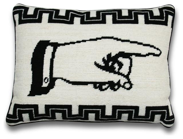 J'accuse Pillow, Left