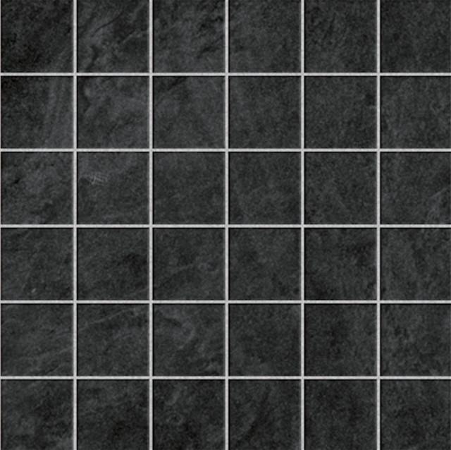 12 X12 Eternity Black Mosaic