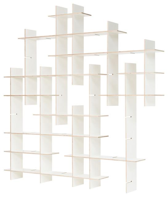 Criss-Cross Display Shelf, Large