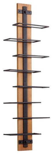 Cyan Design Staggred Spirit Wine Rack.
