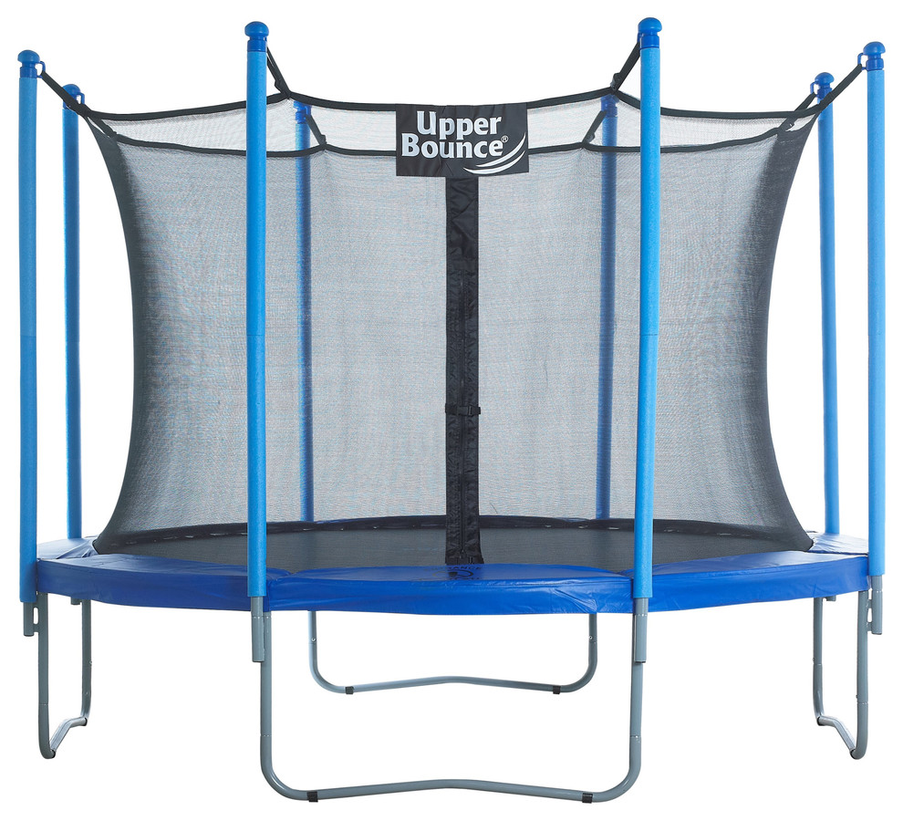 Black or Blue Set of 12 or 16 Upper Bounce Trampoline Pole Foam Sleeves