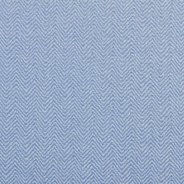 Light Blue Chevron Herringbone Upholstery Fabric By The