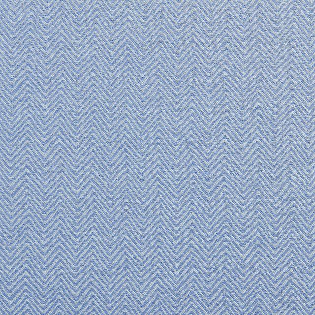 Light Blue Chevron Herringbone Upholstery Fabric By The Yard