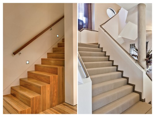 This Or That Carpeted Timber Stairs