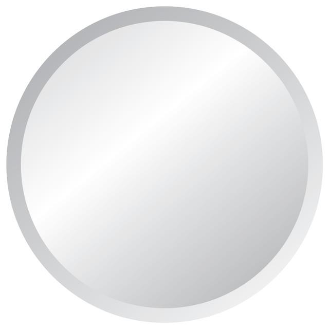 "Rheya Round Mirror, 30"". -1"