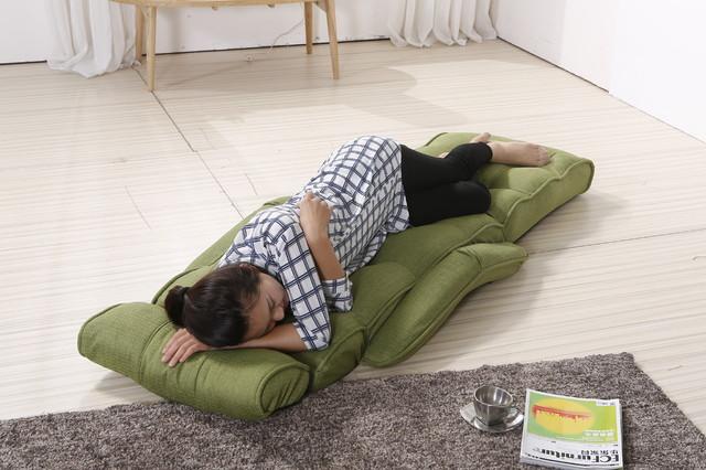 Superieur Cozy Kino Green Pro Multi Functional Sofa Chair Sleeper