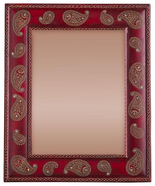 Hand painted paisley photo frame orientale cornici per for Obi cornici per quadri