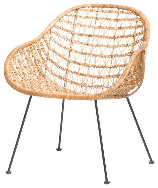 comet basket chair - armchairs and accent chairs - by forma living