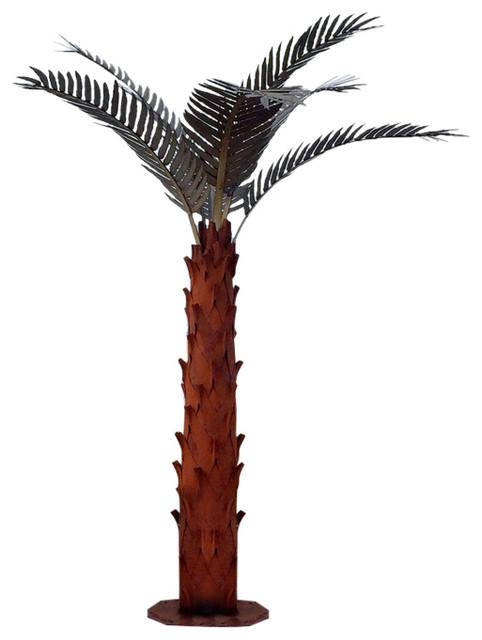 Desert Steel Desert Steel Palm Tree With Stalk Amp Reviews
